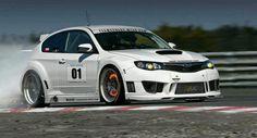 Autocross Subaru STI