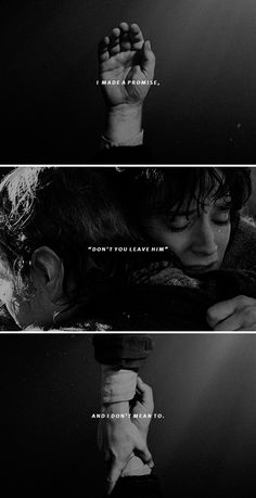 """I made a promise, Mr Frodo. A promise. """"Don't you leave him Samwise Gamgee."""" And I don't mean to. I don't mean to. #lotr"""
