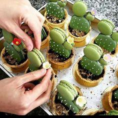Kakteen Macarons
