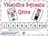Valentine Squeeze Number Game  product from overthemoonbow on TeachersNotebook.com
