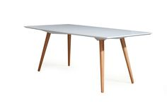 mesa de jantar de teca com pé palito - Pesquisa Google