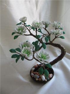 bonsai of beads, pattern