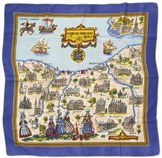Châteaux normands de Bayeux jusqu'à Honfleur