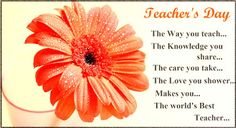 Latest 2019 Happy Teachers Day Wishes, Messages And Quotes With Images Happy Teachers Day Message, Teachers Day Greetings, Teachers Day Card, My Favourite Teacher, Best Teacher, Wish Online, Student Jokes, Teacher Problems, Greetings Images