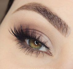 Soft smokey eyes