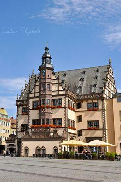 Schweinfurt Town Hall  Schweinfurt, Germany  by Candice Elizabeth, via Flickr