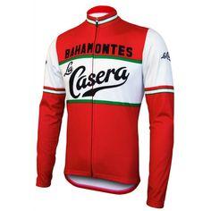 9d2d2e74d La Casera Bahamontes Retro Long Sleeve Cycling Jersey. Cycling GearCycling  JerseysCycling OutfitBike ...