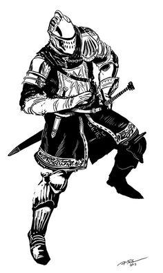Dark Souls Sketch by arvalis.deviantart.com on @deviantART