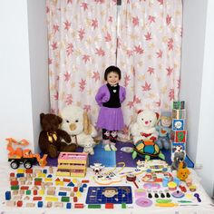 Photos of Children From Around the World With Their Most Prized Possessions |  http://www.gabrielegalimberti.com/