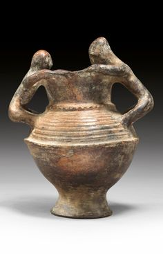 Africa | Vessel from Nigeria; possibly from the Igbo people | Terracotta