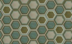 hexagon tiles - popham design