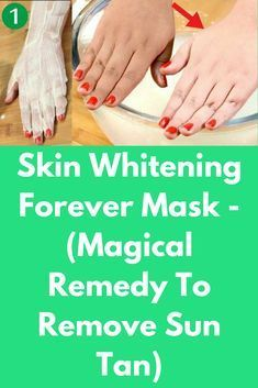Skin Whitening Forever Mask - (Magical Remedy To Remove Sun Tan This is a miracle remedy for skin whitening which will remove tan from your skin. Here all ingredients that are being used will make your skin fair, just use it for 10 days and your skin will start to become fair. This remedy works for all skin types and will definitely improve your skin tone …