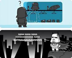 Star Wars vs Batman