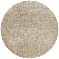 Shop for Lucca Floral Stone/ Ivory Rug (7'10 x 7'10 Round). Get free shipping at Overstock.com - Your Online Home Decor Outlet Store! Get 5% in rewards with Club O!