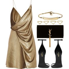 Yves saint laurent, michael michael kors and ana khouri lady like, elegant outfit Dressy Outfits, Stylish Outfits, Rocker, Looks Chic, Inspiration Mode, Elegant Outfit, Polyvore Outfits, Look Fashion, Dress To Impress