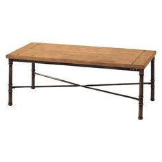 Thornhill Coffee Table - Brown/Black.Opens in a new window