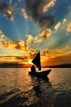 Amazing Sunset at Sumurup by Petrus Arif Tri Harnowo
