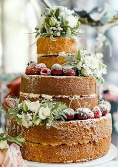Naked wedding cakes are the hottest trend in the wedding world because they look so natural and so yummy! I think such a cake is suitable for every season as you can add any touches you like to the layers – from fall apples and leaves ...