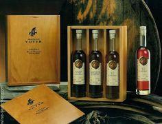 Francois Voyer 3 Bottles of years Distillery, Wine Rack, Whiskey Bottle, Spirit, Packaging, Drinks, Box, Bottles, Gifts