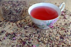 Love it up with Herbal Aphrodisiacs - Valentine's Day Tea Recipes