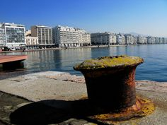 view from Thessaloniki Port Daily Photo, New York Skyline, Queen, City, Places, Travel, Thessaloniki, Viajes, Cities