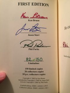 Collectible book of the day: THE DEAD ROOM, by Ken Bruen, via A.S.A.P. (Image 2 of 3)
