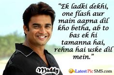 Bollywood Romatic Dialogues maddy