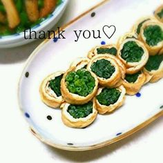 ✿ほうれん草の油揚げ巻き✿ by かずえ亭2号 [クックパッド] 簡単おいしいみんなのレシピが267万品