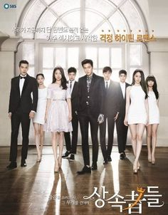 """HEIRS Show(a hit show in CHINA...the drama KINGS and QUEENS of the """"LUCKY"""" CLASS, and I'm sure the chinese in the provinces outside BEIJING still are too poor to afford a TV!A country of 1.2 BILLION and only 300 million benefit from growth(give or take a couple of million, and still over 900MILLION are below poverty standards!) Just a thought!"""