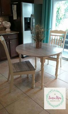 This was an adorable project! I absolutely fell in love with it when it was done! It ended up in a woman's apartment where she wanted something stylish but… Country Kitchen Flooring, Country Dining Rooms, Country Furniture, Classic Furniture, Cheap Furniture, Country Decor, Furniture Outlet, Unique Furniture, Custom Furniture