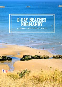 I am all for for historical trips and tours, so imagine my excitement when we visited the D-Day Beaches in Normandy, France! #travel #beach