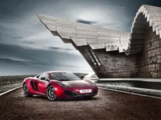 Mercedes McLaren MP4-12C Red
