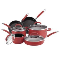 pots n pans-boring, but necessary-all WITH lids!