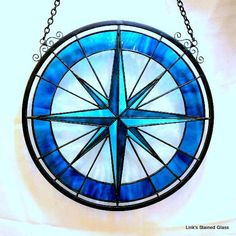 Our large compass rose panels, measuring 14 or 20 in diameter