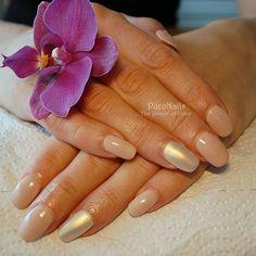 Nude is always good! PROnail 568 ❤❤☺ #hybrydypronail #nailsoftheday #nailart #nails #nail #naturalnails #goldnails #nude #classicnails #paznokcie #paznokciehybrydowe #pazurki #polishgirl #finishgirl #järvenpää #kynsilakka #kynsi #beauty #woman #lovenude #procosmetics