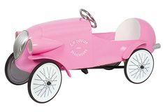 For a 3 yr old! Le Mans Pedal Car, Pink on OneKingsLane.com