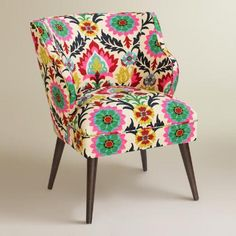 One of my favorite discoveries at WorldMarket.com: Desert Santa Maria Audin Upholstered Chair #WorldMarketTribe #Ad