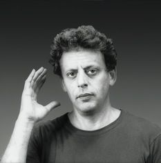 NUMBER NINEA new symphony and classic works by Philip Glass. - The composer in New York City in Photograph by Robert Mapplethorpe. Philip Glass, Robert Mapplethorpe, Music People, The New Yorker, Black And White, Classic, Composers, White Photography, City