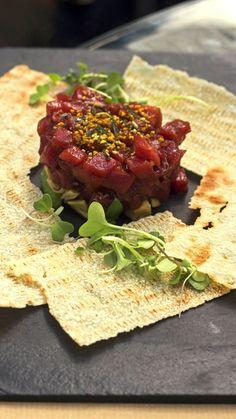Tartar atún Barbate El Kiosko restaurante terraza gastrobar Las Rozas Madrid
