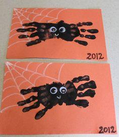 araignée avec les doigts