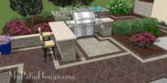 Patio designed to match home style 5