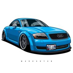 Audi TT Owner: You can also order the the art with your car. I accept orders. Write me DM or email. Slammed Cars, Jdm Cars, Audi A3, Audi Tt Sport, Audi Tt 225, Bmw V8, Allroad Audi, Volkswagen Group, Bmw Series
