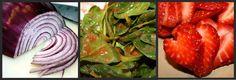 The Garden Grazer: Strawberry Spinach Salad
