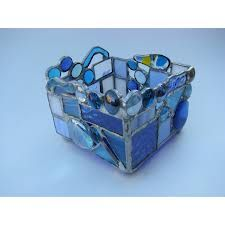 stained glass candle holders - Google Search