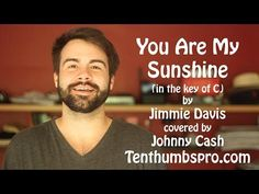 You Are My Sunshine - Easy Beginner Ukulele Song - How to play Ukulele Great First Song Tutorial - YouTube