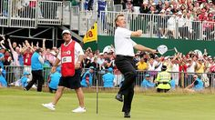 Ernie Els Pulls off the upset victory in the Open Championship! Congratulations to the veteran golfer!