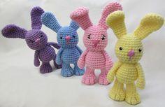 Crochet For Children: Little Bigfoot Bunny - Free Pattern