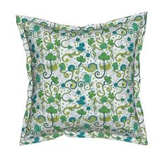Serama Throw Pillow featuring Ethnic indian ornament by argunika | Roostery Home Decor