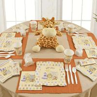 Zoo Animal Baby Shower Ideas to have a roarin' fun baby shower