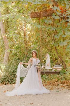 This luxurious fairytale wedding in the woods features a storybook backdrop, bridal crowns and dreamy princess wedding dresses! Wedding In The Woods, Forest Wedding, Wedding Day, Bridal Portrait Poses, Most Beautiful Images, Bridal Pictures, Bridal Crown, Princess Wedding Dresses, Green Wedding Shoes